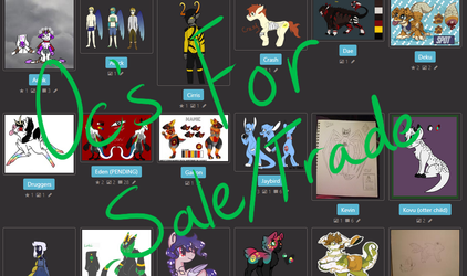 Oc's for Sale/Trade by GoblinsDomain