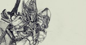 Optimus Prime TF4 drawing Loading ... parte 2 by DSPA360