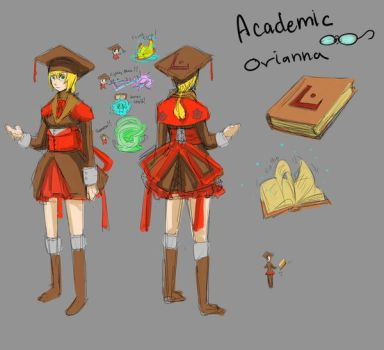 Academic Orianna by KindCoffee