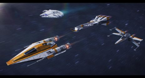 Star Wars: Lando's Strike Team by AdamKop
