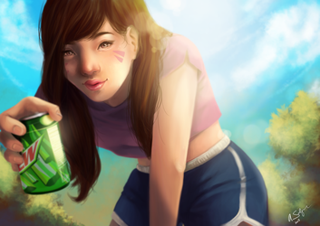 Hey, have a drink! by ASalguez