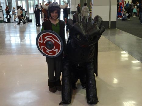 Oz Comic-Con Adelaide 2015: HTTYD by lizardman22