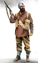 Sikh commando corporal by anderpeich