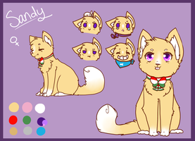 Sandy (Sandfire) Reference by QueenBirb