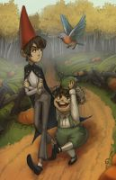 Over the Garden Wall by allyssinian