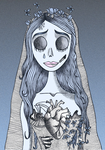 Corpse Bride by Unsorteddots