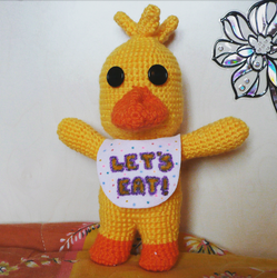 Chibi Chica Amigurumi by SpinaOscura