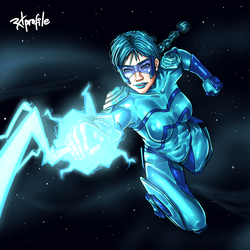 That's why she's called Blue Bolter! by Radprofile