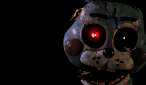 Five Nights at Freddy's 2 [Toy-Bonnie Old] by Christian2099