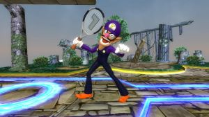 Waluigi for Super Smash Bros. Switch by SCP-096-2