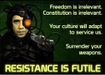 Obama the Borg by GeneralTate