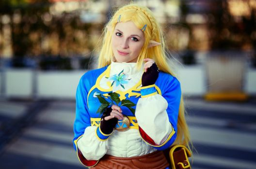 Zelda - Breath Of The Wild Cosplay by GiuliaZelda