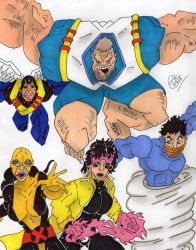 X-People (request) by Vaughn787