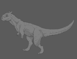 Carno (lineart) by thetwinsisters