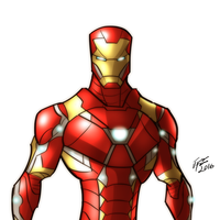 Iron Man by jonathanserrot