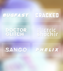 distortion  fonts by tzxico