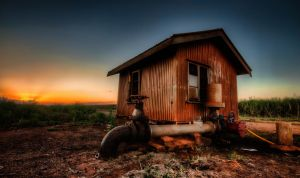 Pumpshed Sunset by GrantDixon