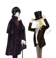 Noblesse: May I borrow your hat, Sir by camellia029