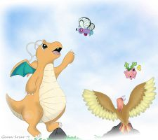 flying pokemon by gaara-lover-9