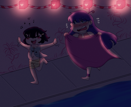 [AA2] Carnaval// Lily y Luna by ChristaEUO