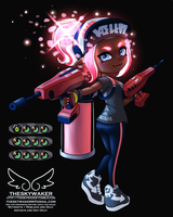 My Octoling (7 9 2018) by theskywaker