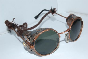 steampunk glasses 1 by Ayra-Arts