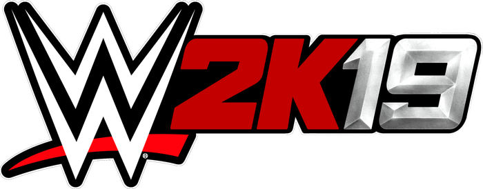 WWE 2K19 New Silver Logo by ultimate-savage