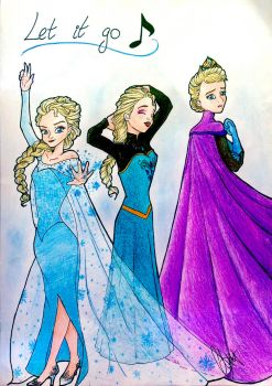 Let it go :) Broadway's Facebook page Contest!!! by xBrokenRedRosex