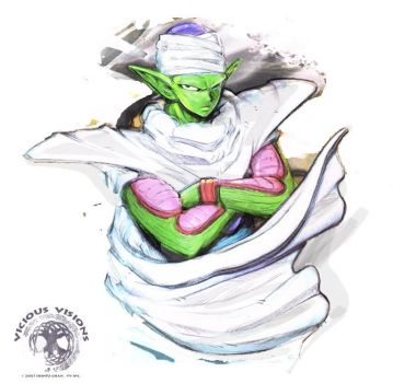 DBZ Piccolo - berols by Shinjuchan