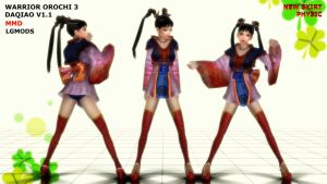 [MMD DL] WO3 DAQIAO : V1.1 UPDATE (Download) by LGMODS