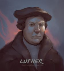 Commission: Luther by VincentiusMatthew
