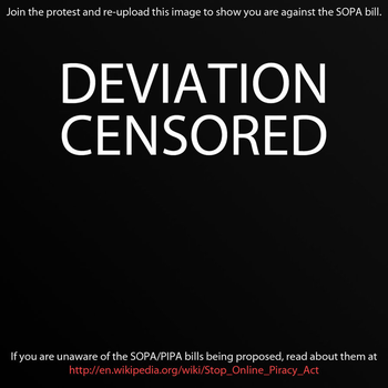 Screw you S.O.P.A by Mystique84