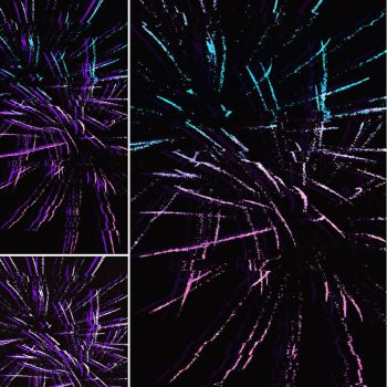 Glitched Fireworks by That-One-Spark