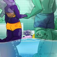 Swimming pool by FreakyVicky
