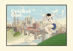 Cricket Girl by onewayprophet