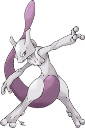 Mewtwo v.3 by Xous54
