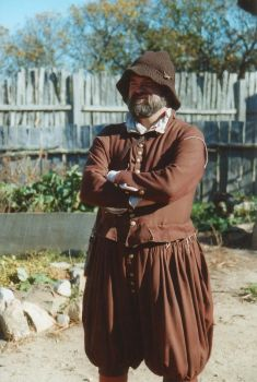 Plimoth man by LilithParker