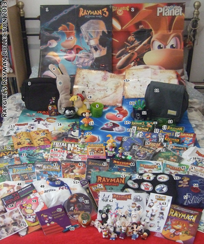 Raygirl's Rayman collection 2013 by raygirl