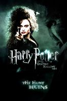 HP7 Part 1 Poster - Bellatrix by thedoctorwho07