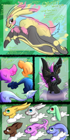 Onmiit Species Guide by Glitchdove