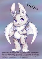 Angel Bunny by WibbleyWobbleys