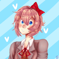 [DDLC] Sayori!! by IndisCoffee