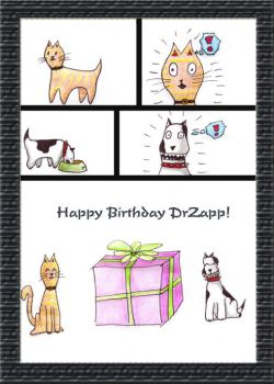 Happy birthday DrZapp by Patineitor