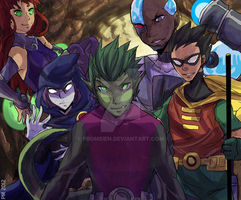 We are Titans by Promsien
