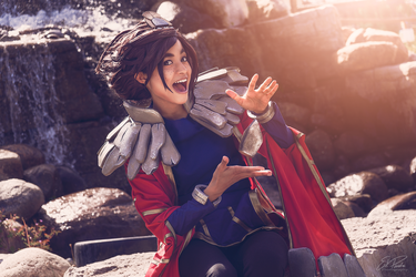 Taliyah - Stone Wizard by the-mirror-melts