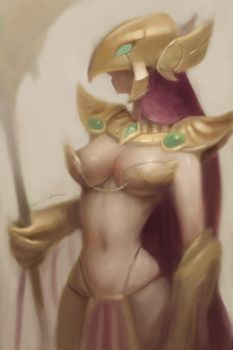 Female Azir (League of Legends) by Alex-Chow