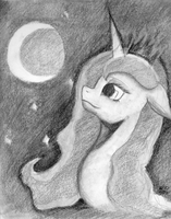 Luna Moon by chriscstick