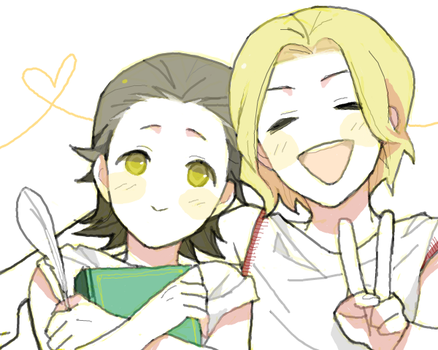 Young Asgard brothers by mixed-blessing