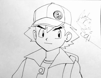 Ash/Red Fusion...? by RinkuSonic41