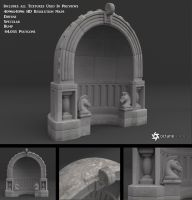 Free Stone Alcove Model by LuxXeon